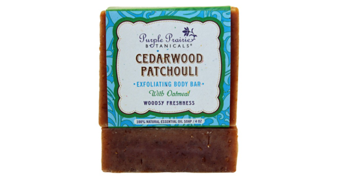 Cedarwood Patchouli Soap Bar