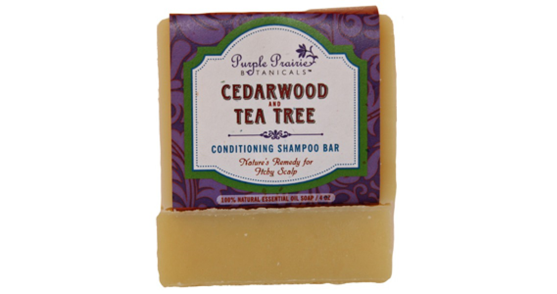 Cedarwood & Tea Tree Shampoo Soap Bar
