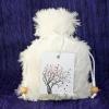 Custom Goody Bag - White Fur