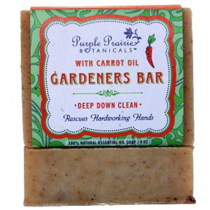 Gardener's Carrot Soap