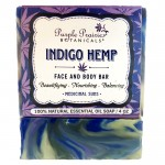 Indigo Hemp Soap Bar