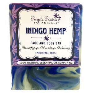 Indigo Hemp Soap Bar