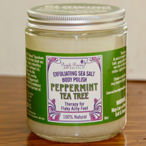 Peppermint Tea Tree Foot & Body Polish