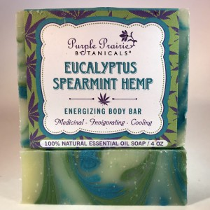 Eucalyptus Spearmint Hemp Soap Bar