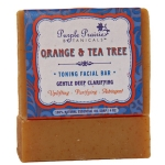 Orange Tea Tree Facial Soap Bar