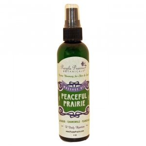 Peaceful Prairie Body Massage Oil - Lavender, Ylang Ylang, Chamomile