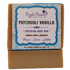 Patchouli Vanilla Soap Bar