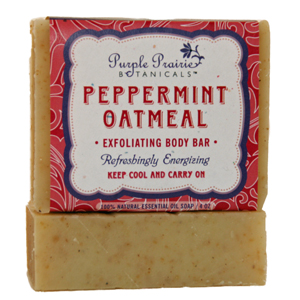 Peppermint & Oatmeal Soap Bar