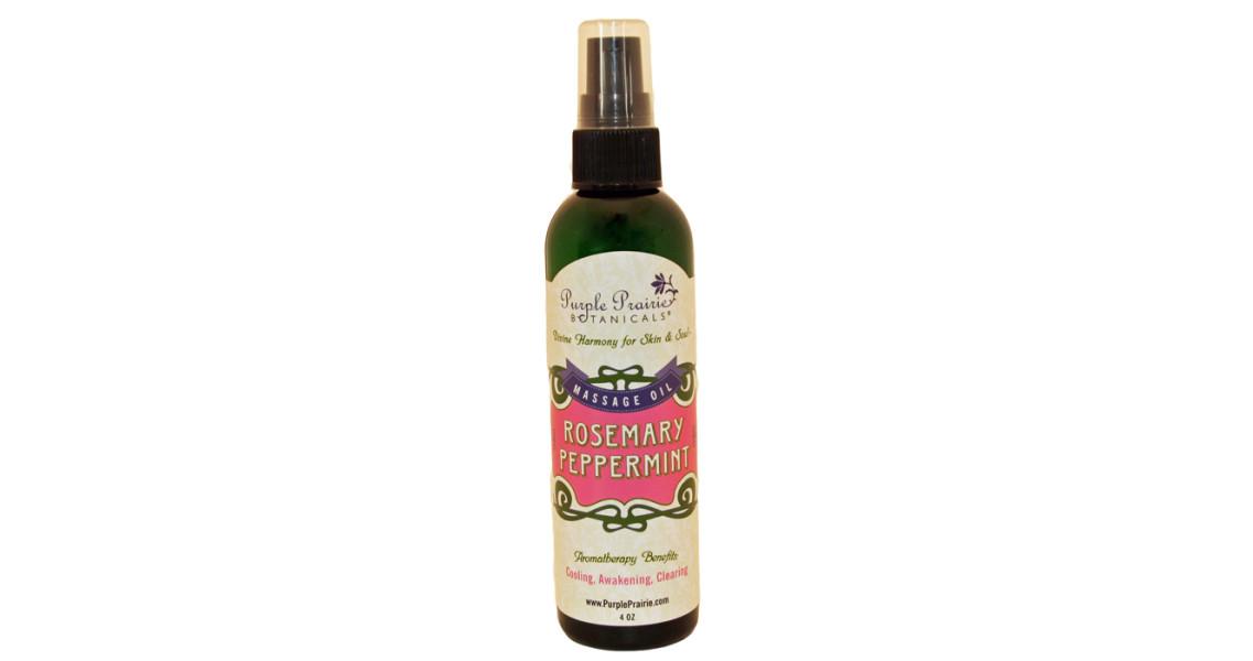 Rosemary Peppermint Massage Oil