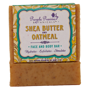 Shea Butter & Oatmeal Soap Bar