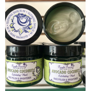 Avocado Coconut Exfoliating Face Mask