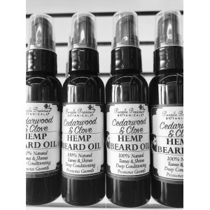 Cedarwood & Clove Beard Oil